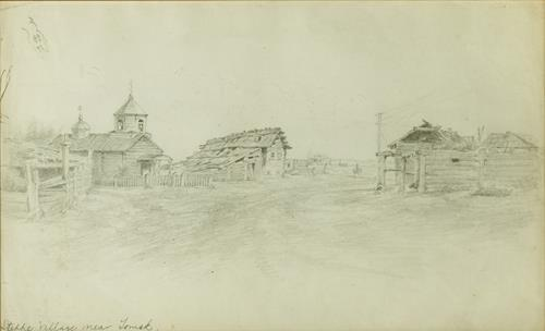 George Albert Frost Six Scenes from Siberian Villages