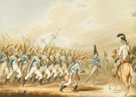 Johann Georg Paul Fischer The Grand Duke Constantine's Regiment of Cuirassiers of the Imperial Russian Army in 1806
