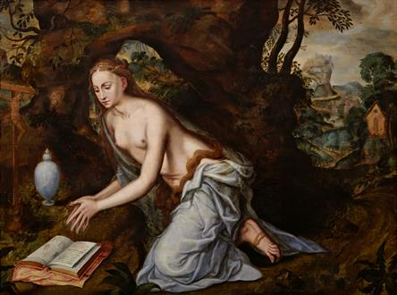 Jan Massys The Penitent Magdalene