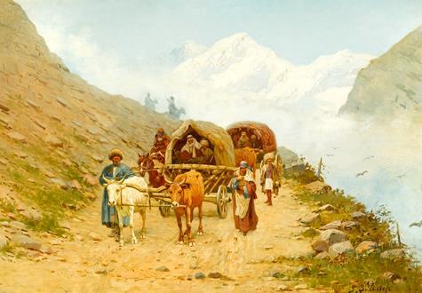 Richard Karlovich Zommer Caucasian Caravan