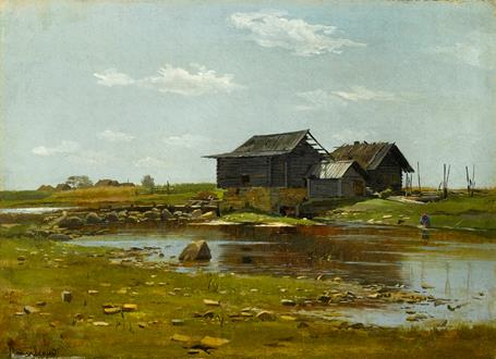 Ludvig Ludvigovich Poplavsky The Mill
