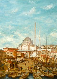 Robert Charles Gustave Laurens  Mols Yeni Cami Mosque