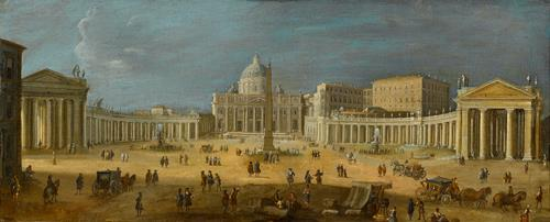 Gaspar van Wittel, called Vanvitelli A View of St. Peter's Basilica, Rome