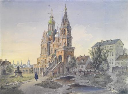 Joseph Andreas  Weiss The Church of the Dormition of the Theotokos