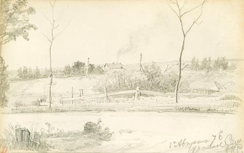 Ilya Yefimovich Repin View of Krasnoye Selo
