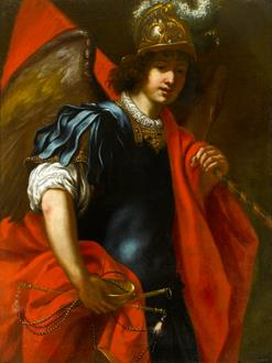 Jacopo Vignali The Archangel Michael