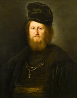 Helmich von Tweenhuysen II Portrait of a Bearded Cleric