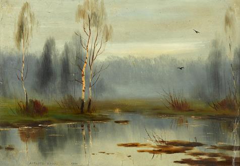 Albert Nikolayevich  Benois Silver Birches