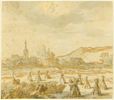 Allaert van Everdingen Month of August (Virgo): The Harvest