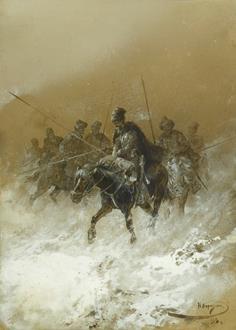 Nikolai Nikolaevich Karazin Cavalry in the 1812 Campaign