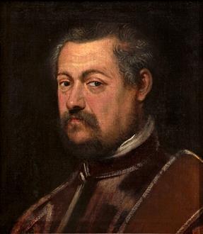 Domenico Tintoretto Portrait of Paolo Tiepolo (1523 - 1585)