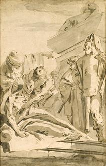 Giovanni Battista Tiepolo Death of Seneca