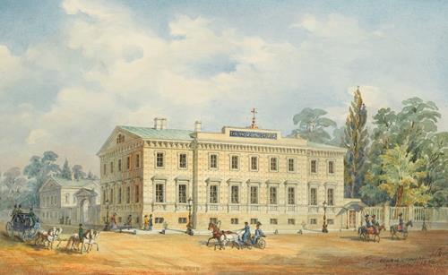 Nikolai Leontjewitsch Benois  Hospice de St. Olga, St. Petersburg