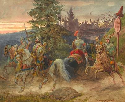 Adolphe Josefovich Charlemagne The Road to Chernomor