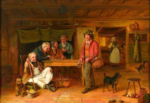 Edmund Bristow  The Turk's Head Inn, Eton