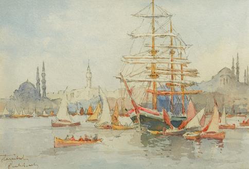 J Pavlikevitch On the Bosphorus