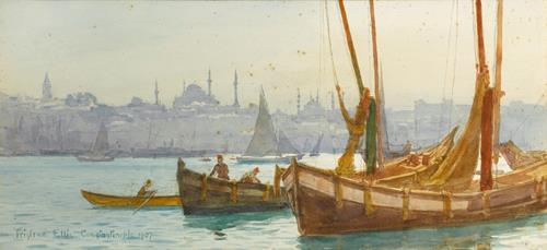 Tristram Ellis The Bosphorus, Constantinople