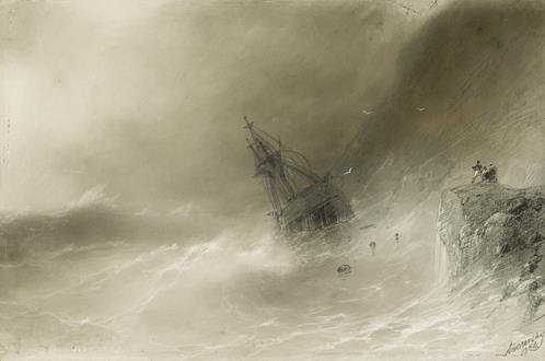 Ivan Konstantinovich  Aivazovsky Shipwreck