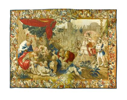 Charles Poerson Titus at the Massacre at Jerusalem