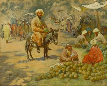 Giorgy Ivanovich (Gigo) Gabashvili The Market