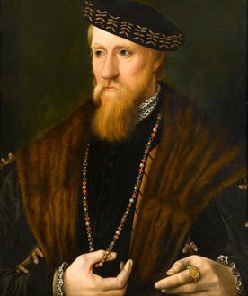 School Anglo-Netherlandish Portrait of a Gentleman, traditionally said to be Edward Seymour, 1st Duke of Somerset (c.1500-1552)