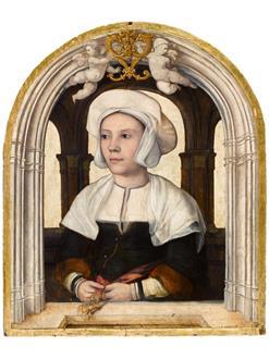Flemish School, c.1535 Portrait of a Lady